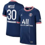 lionel messi shirt kids psg 2021-2022